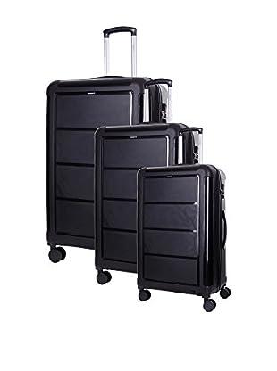 TORRENTE Set de 3 trolleys rígidos Arcadian
