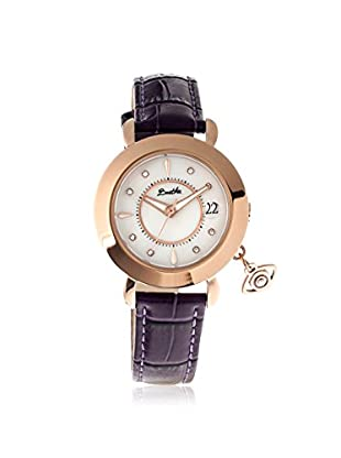 Bertha Women's BTHBR5303 Iris Plum/White Leather Watch