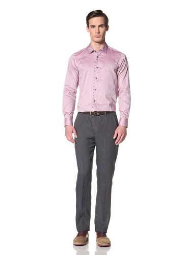 Ted Baker Men's Hudali Button-Up Shirt (Pink)