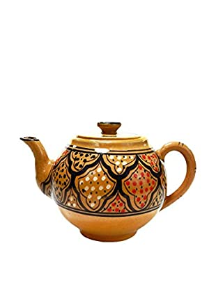 Le Souk Ceramique Honey Teapot, Honey/Brown