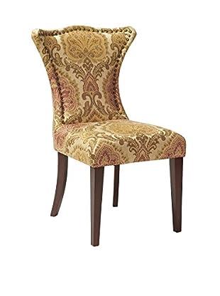 Jennifer Taylor Home Juliette Chair, Wheat/Moss/Rose