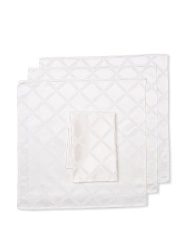 Lenox Set of 4 Laurel Leaf Napkins (White)