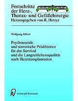 Psychosoziale und somatische Prädiktoren für das Survival und die Langzeitlebensqualität nach Herztransplantation (Fortschritte in der Herz-, Thorax- und Gefäßchirurgie)