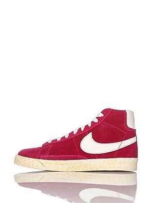Nike Zapatillas Blazer Mid Vintage (Ps) (Fucsia/Blanco)