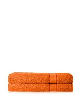 Espalma Set of 2 Ambassador Bath Sheets (Orange)