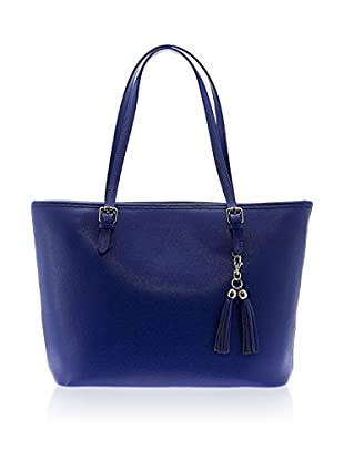 Lisa Minardi Bolso shopping  Azul