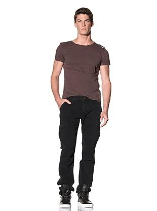 Rockstar Men's Twill Cargo Pant (Vintage Black)
