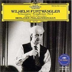 ウィルヘルム・フルトヴェングラー指揮/ベルリン・フィル シューマン:交響曲第4番&マンフレッド序曲の商品写真