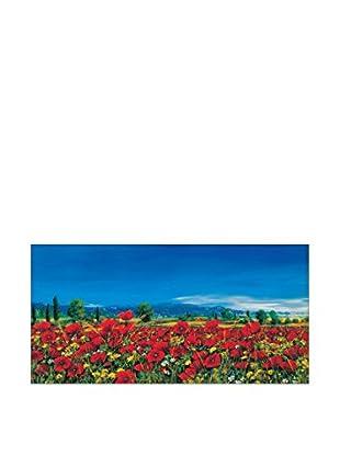 ArtopWeb Panel de Madera Marzari Distesa In Fiore 100x50 cm