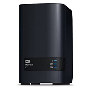 WD My Cloud EX2 4 TB: Reliable Network Attached Storage featuring WD Red Drives