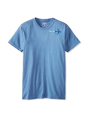 Jacks and Jokers Men's Aviator Flag Tee (Riptide)