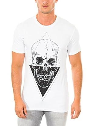 883 Police T-Shirt Manica Corta Skull Triangle