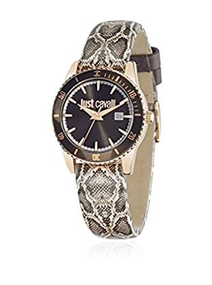 Just Cavalli Orologio al Quarzo Woman Just In Time Marrone 31 mm