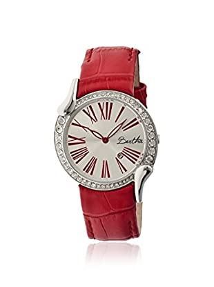 Bertha Women's BR2507 Olive Red/Silver Leather Watch