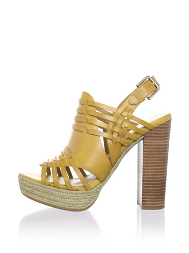 Luxury Rebel Women's Judy Platform Sandal (Mustard)