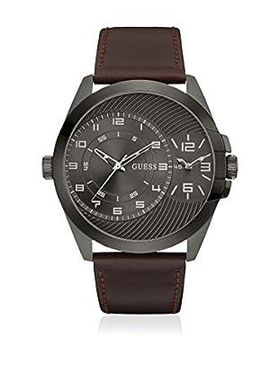 Guess Uhr mit japanischem Mechanikuhrwerk Man Alpha anthrazit 48.1 mm