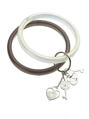 Nomination Armband Bangle lila/perle