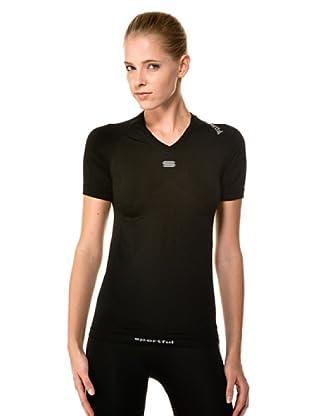 Sportful Camiseta Underwear Intima V Neck (Negro)