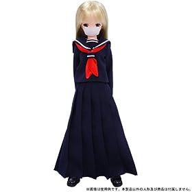 セーラー服set(スケ番ver.) 紺×紺 アゾンインターナショナル