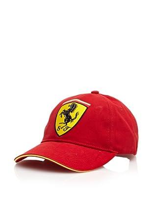 Ferrari Gorra Scudetto (Rojo)