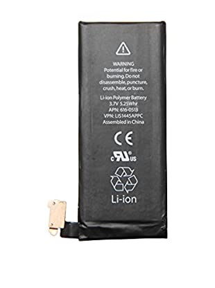 Unotec Batterie iPhone 4 1420 mAh schwarz