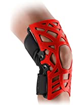 DonJoy Reaction WEB Knee Support Brace with Compression Undersleeve: Red, XXX-Large