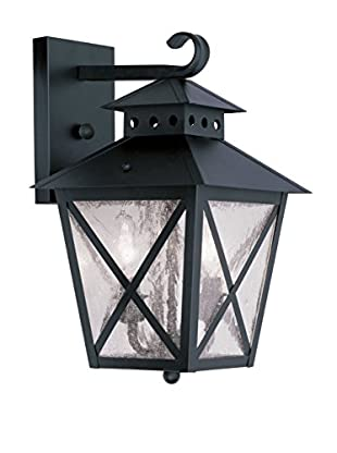 Crestwood Madelynn 2-Light Wall Lantern, Black