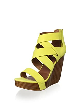 Matiko Women's Stacey Wedge Sandal (Citrus)