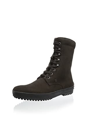 Tod's Men's Lace-Up Boot (Dark Brown)