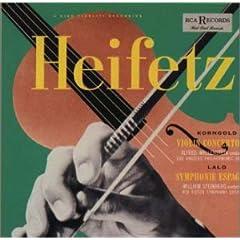 CD:ハイフェッツのコルンゴルト