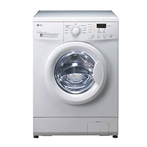 LG 5.5 Kg F1091MD2 Front Loading Fully Automatic Washing Machine-White