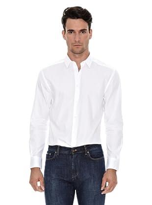 Versace Camisa Lisa (Blanco)