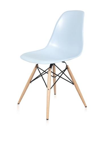 Mid-Century Eiffel Dining Chair (Blue)