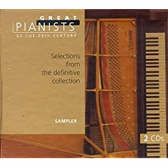 Great Pianists of the 20th Century--Complete Guide, Sampler