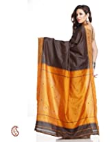 Designer Art Silk Embroidered Saree - SAR1305