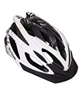 Probike HL2950 Cycling Helmet -Black and White (Size-M)