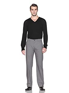 John Varvatos Collection Men's Straight Leg Pant (Light Grey)