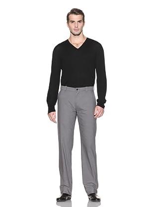 John Varvatos Collection Men's Straight Leg Pant (Light Grey)