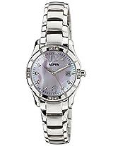 Aspen Analog Silver Dial Women's Watch - AP1777