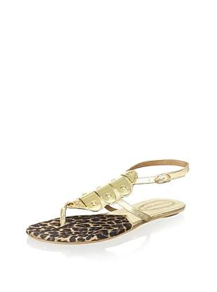 Corso Como Women's Delfim Sandal (Platinum Napa Soft)