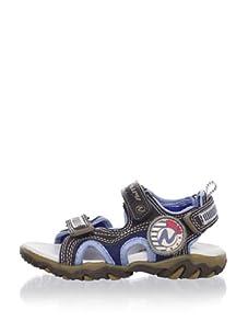 Naturino Kid's Sport 196 Sandal (Toddler/Little Kid/Big Kid) (Moro/Jeans)