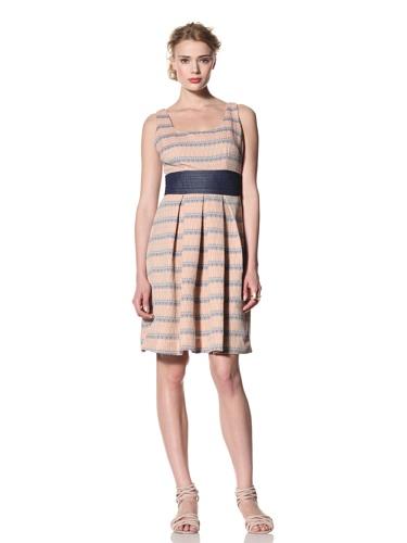 Eva Franco Women's Peggy Sleeveless Scoop Neck Fit & Flare Dress (Carrington)
