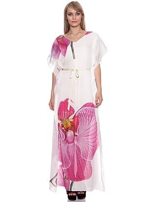Santa Barbara Golden Edition Vestido Largo (Blanco)