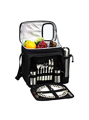Picnic At Ascot London and Coffee Cooler For 2, Black