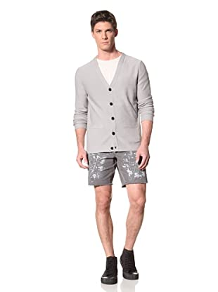 Edun Men's Basic Cardigan (Aluminum)