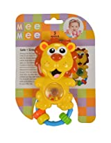 Mee Mee Lovely Lion Rattle, Multi Color