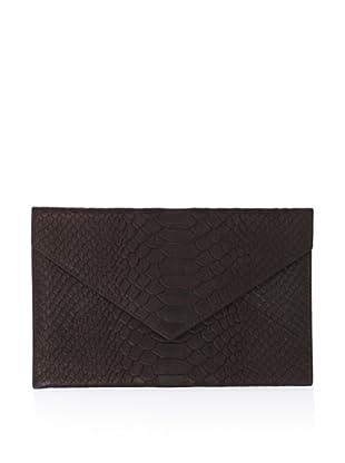 Graphic Image Women's Medium Envelope (Brown)