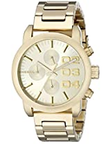 Diesel  Chronograph Gold Dial Men's Watch - DZ5435