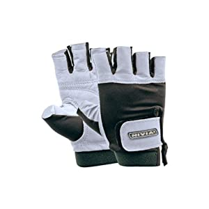 Nivia Leather Gym Gloves (L)