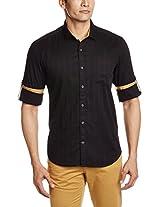 Highlander Men's Regular Collar Casual Shirt